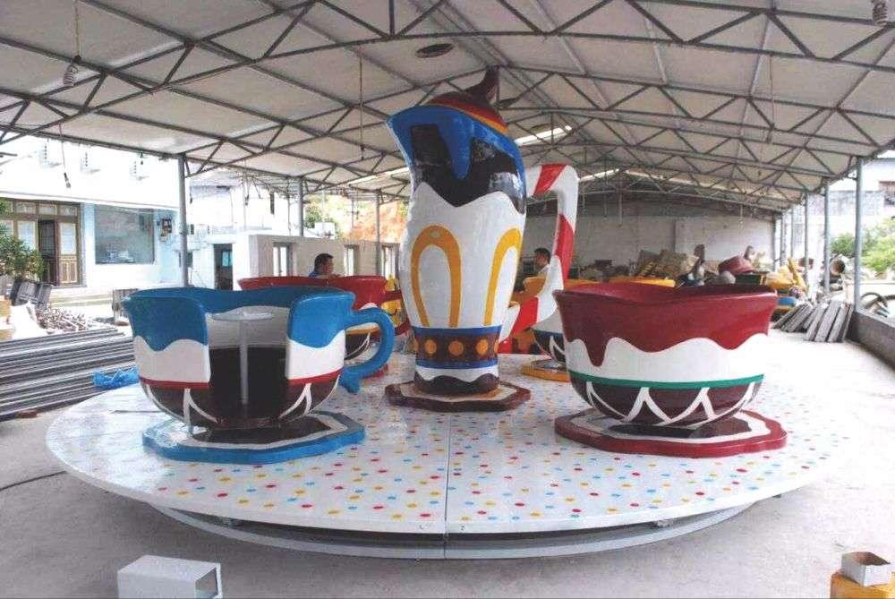 儿童水上乐园设备_旋转乐园旋转乐园 咖啡杯八座转椅HD-YXZ001-20221——大型户外滑梯 ...
